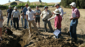 Annual Field Tour inspects Soil Pit